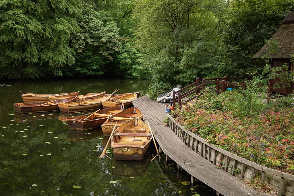 Ruderbootsverein im Bürgerpark Bremen