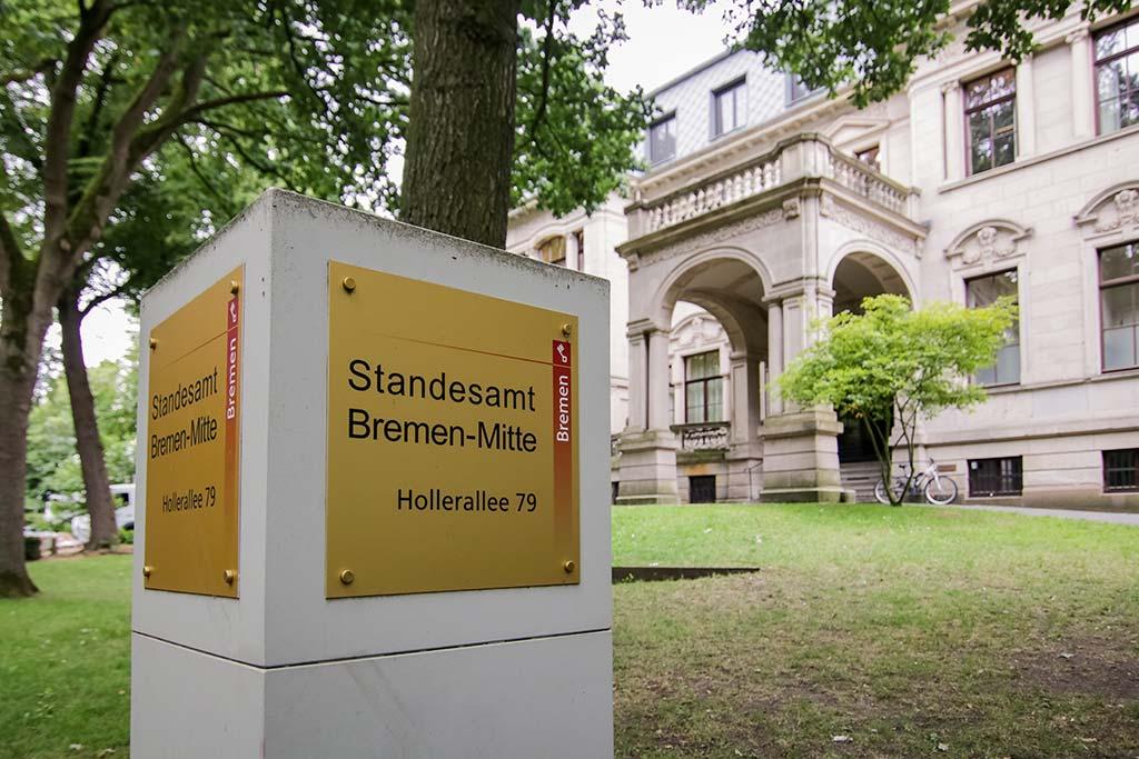 Standesamt Mitte in Bremen