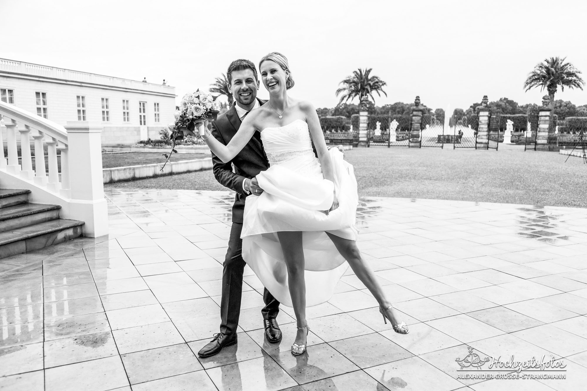 Hochzeitsreportage Hannover Hochzeitsfotograf Herrenhaueser Gaerten Grosser Garten 18