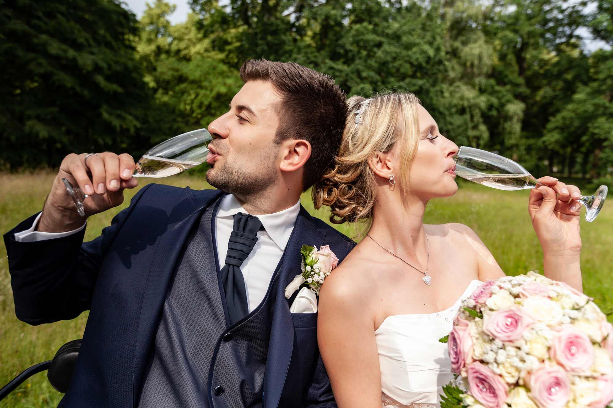 Hochzeitsfotos Herrenhäuser Gärten