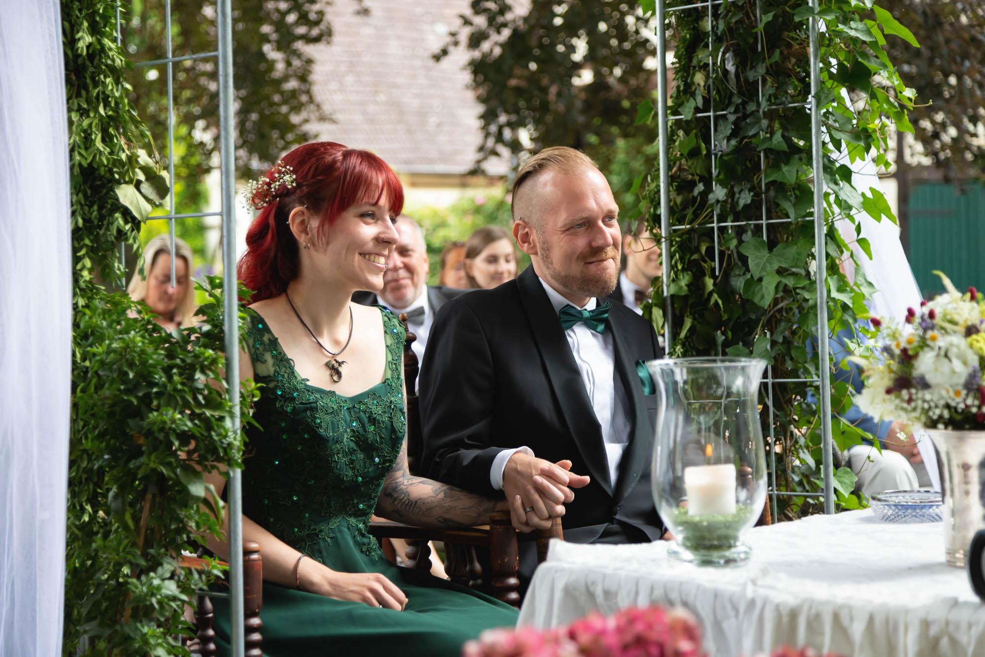 Hochzeitsfotos in der Außenstelle vom Standesamt in Springe