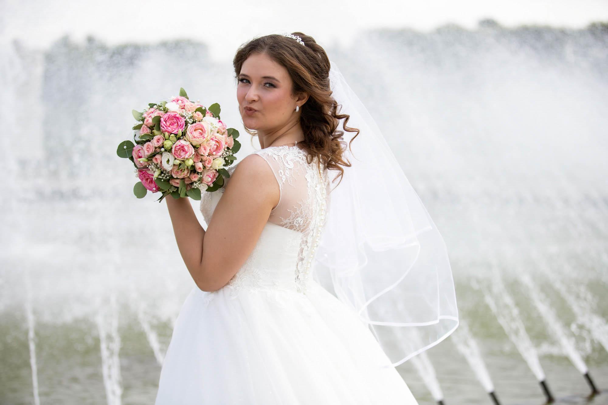Hochzeitsfotos im Park in Hannover 6