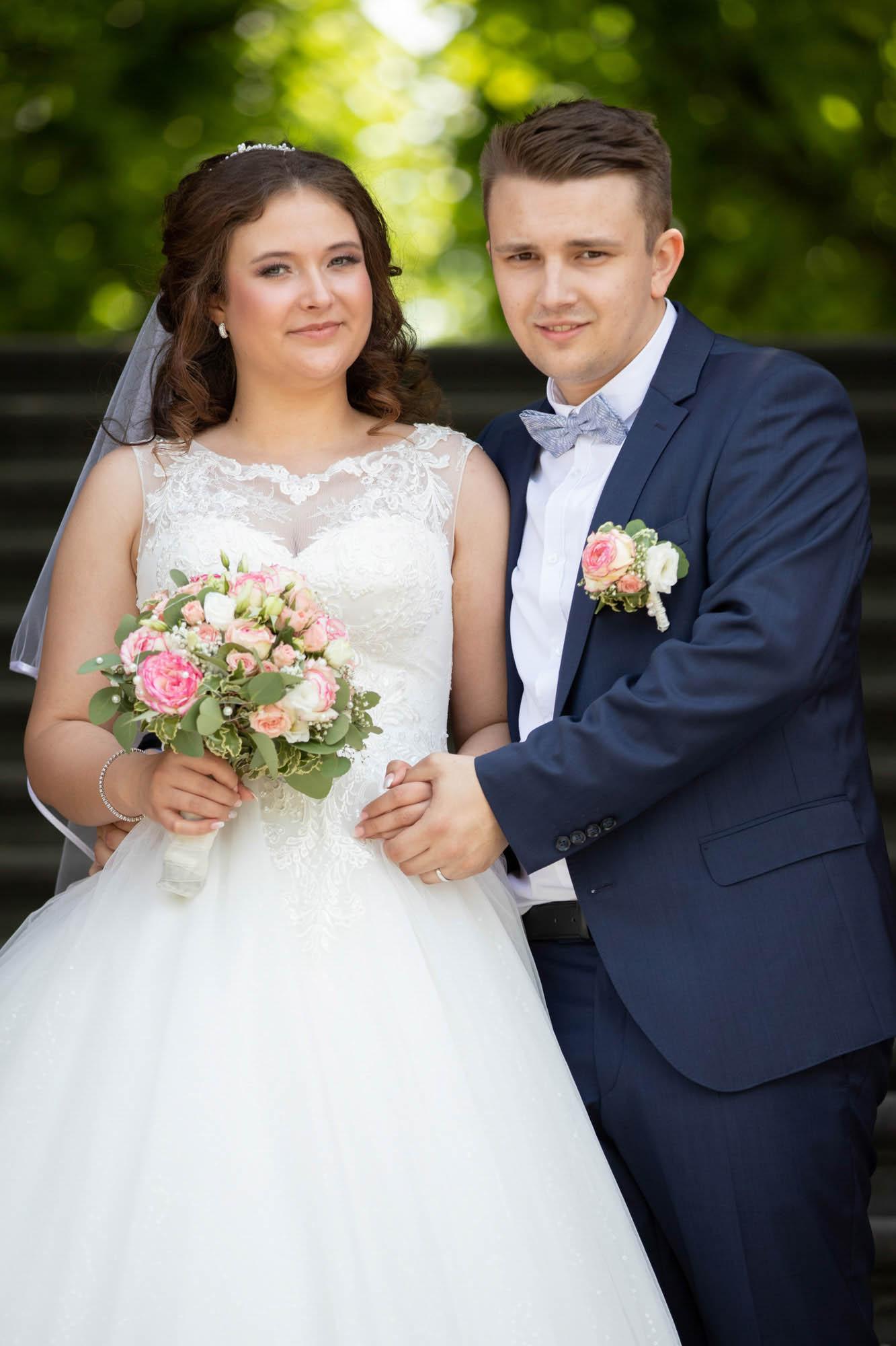 Hochzeitsfotos im Park in Hannover 5