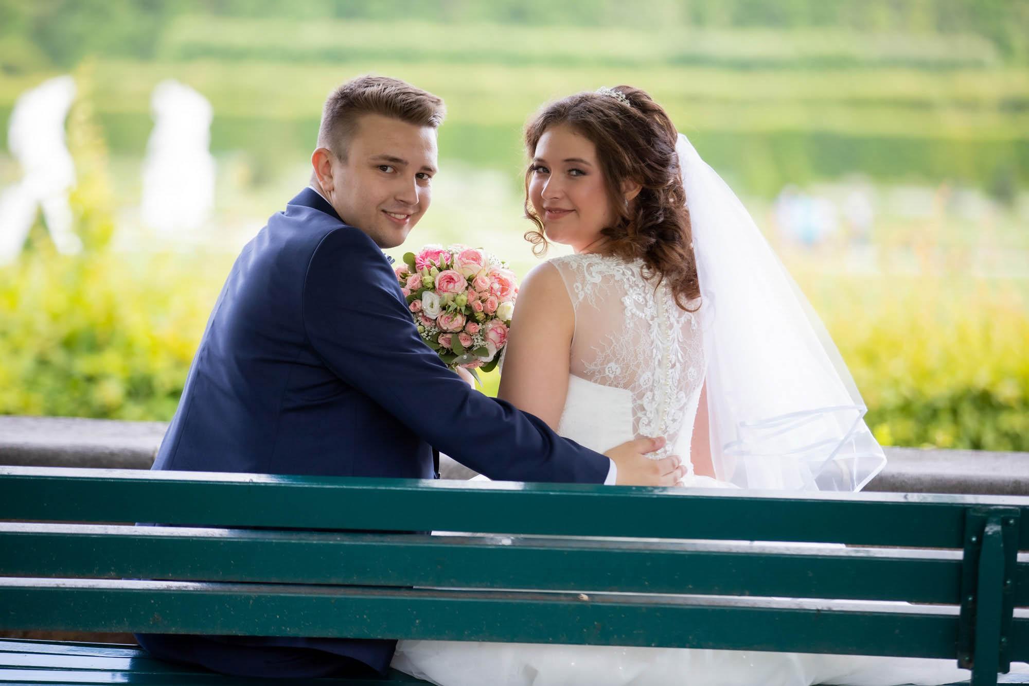 Hochzeitsfotos im Park in Hannover 4