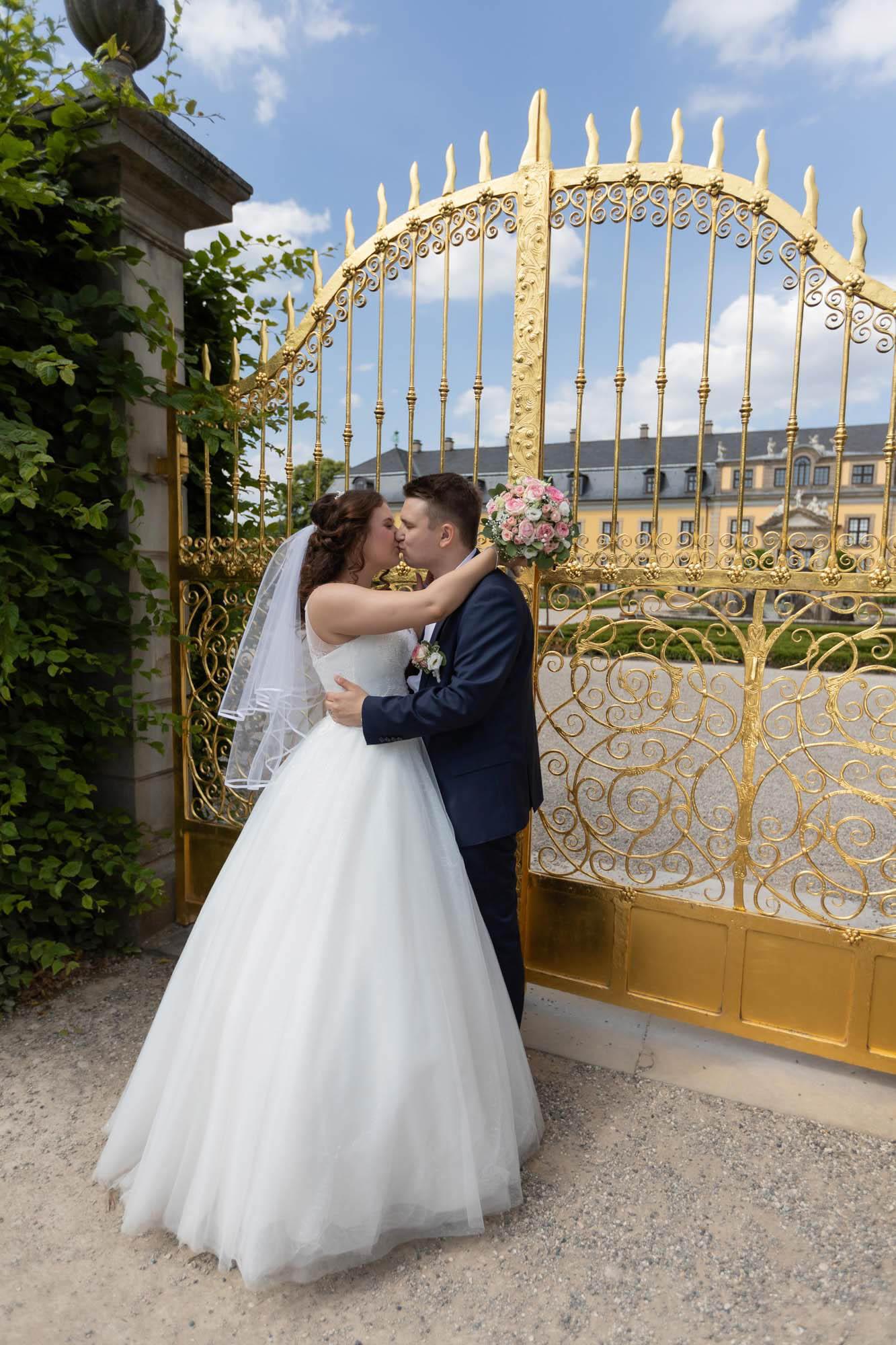 Hochzeitsfotos im Park in Hannover 2